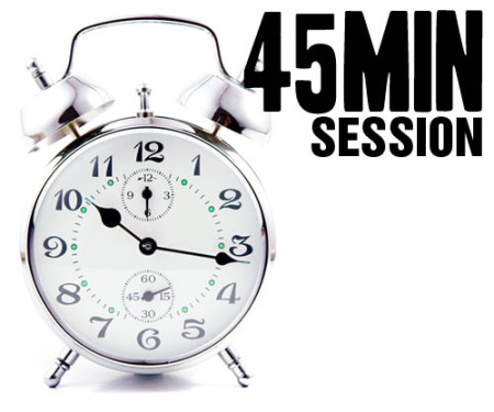 45 Minute Session
